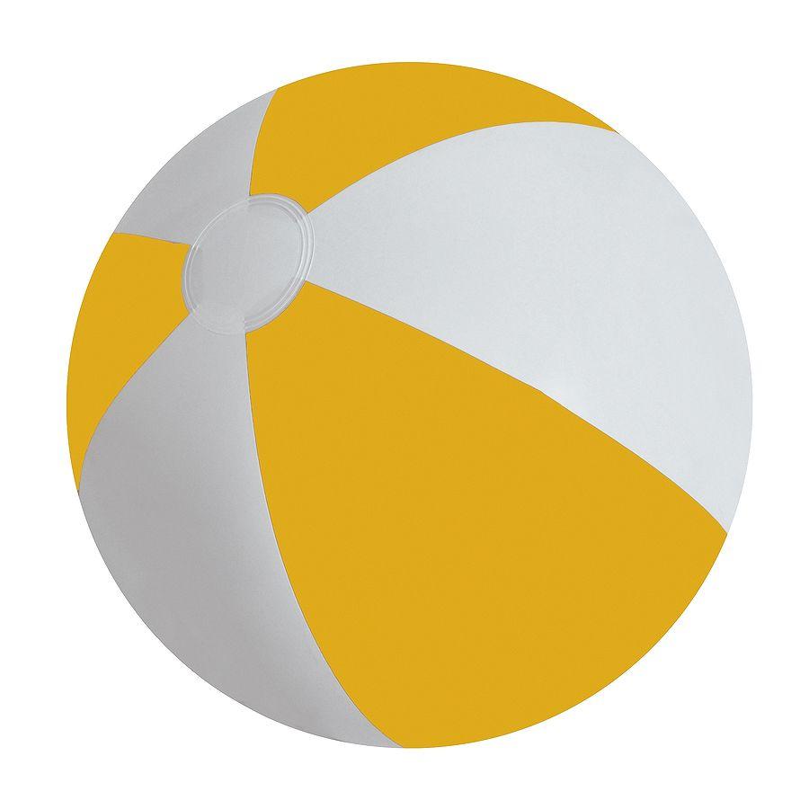 Мяч надувной «ЗЕБРА», желтый, 45 см, ПВХ