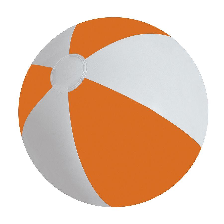 Мяч надувной «ЗЕБРА»,  оранжевый, 45 см, ПВХ