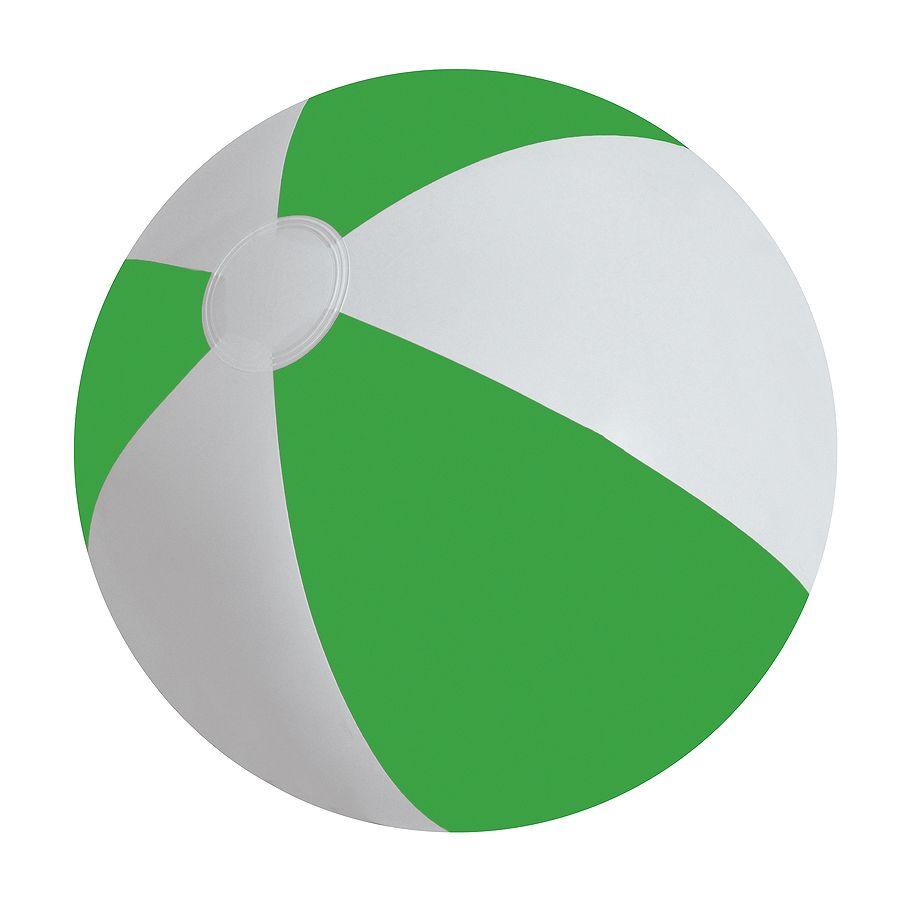 Мяч надувной «ЗЕБРА»,  зелёный, 45 см, ПВХ