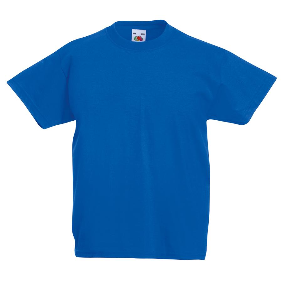 Футболка детская «Kids Original T», синий, 7-8 лет, 100% х/б,  145 г/м2