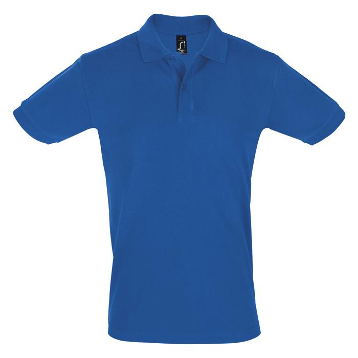 Поло «Perfect Men», ярко-синий_XL, 100% х/б, 180г/м2