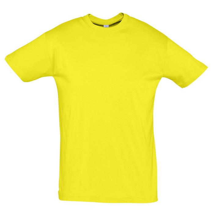 Фотография товара Футболка «Regent», лимонный_S, 100% х/б, 150 г/м2