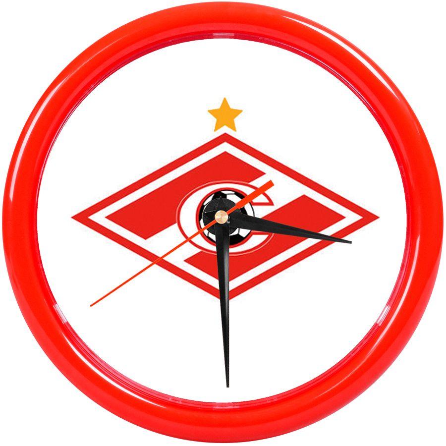 Часы настенные «PRINT» разборные, красный, D24,5 см; пластик