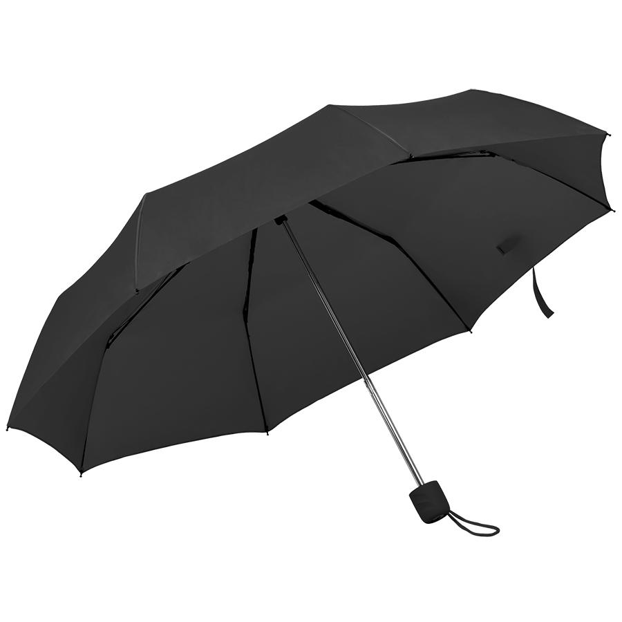 Зонт складной «Foldi», механический, черный