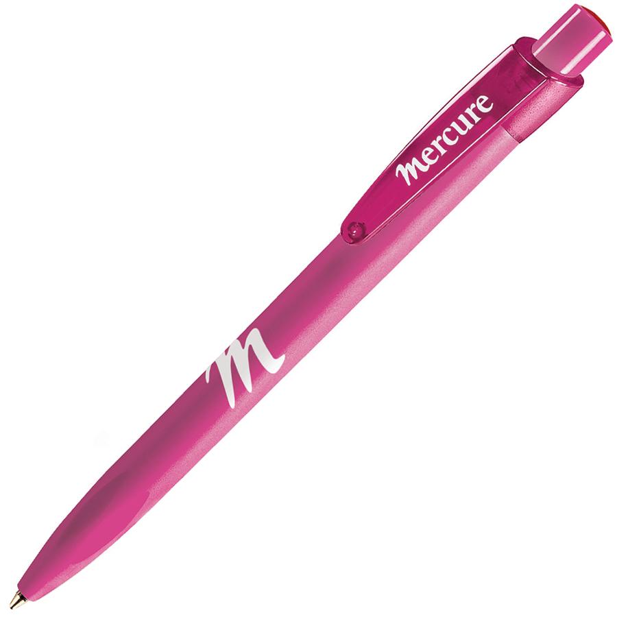 X-7 MT, ручка шариковая, розовый, пластик