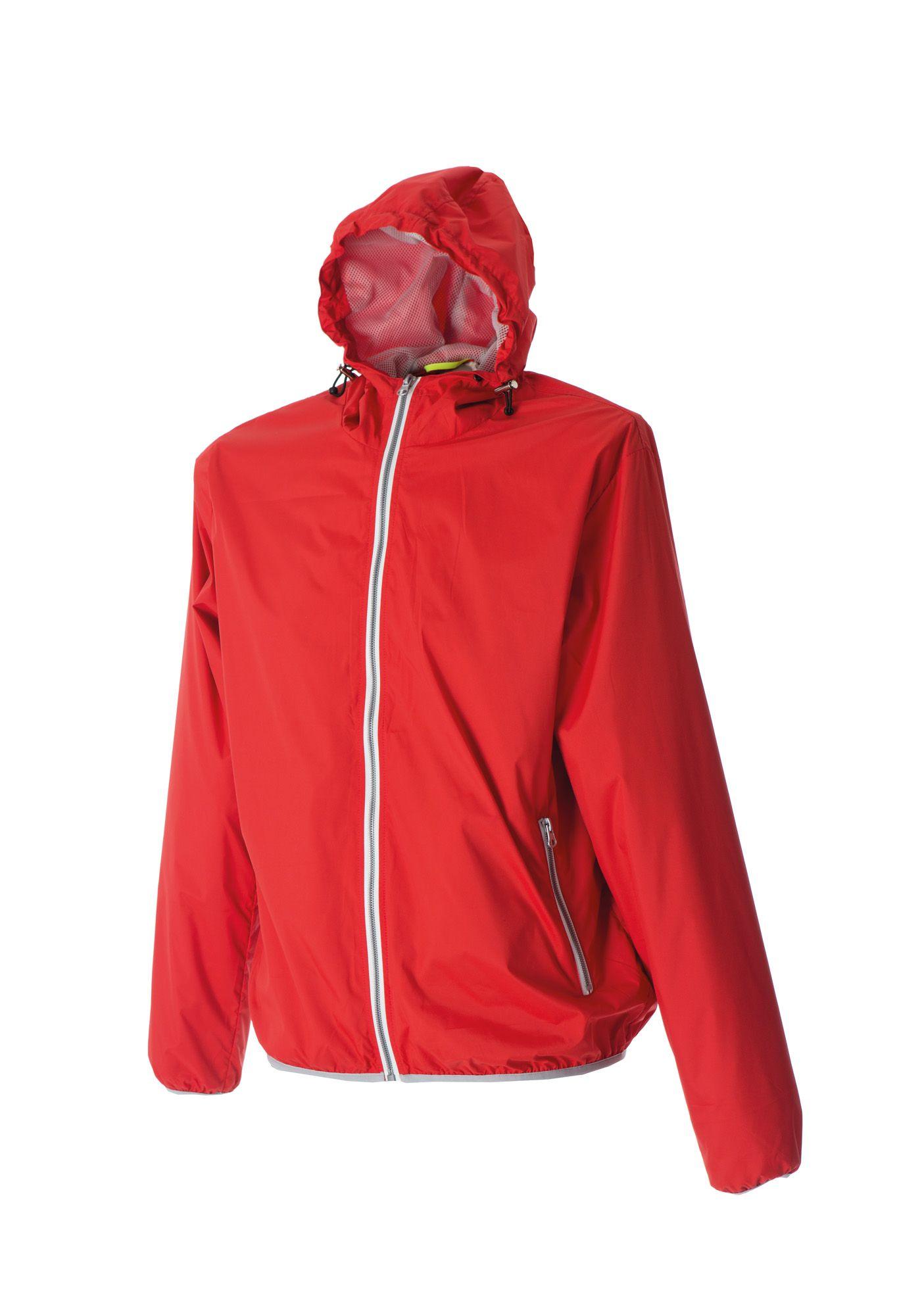"""Ветровка мужская """"Madeira Man"""", нейлон, красный, размер 3XL"""
