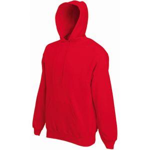 Толстовка «Hooded Sweat», красный_M, 80% х/б, 20% п/э, 280 г/м2