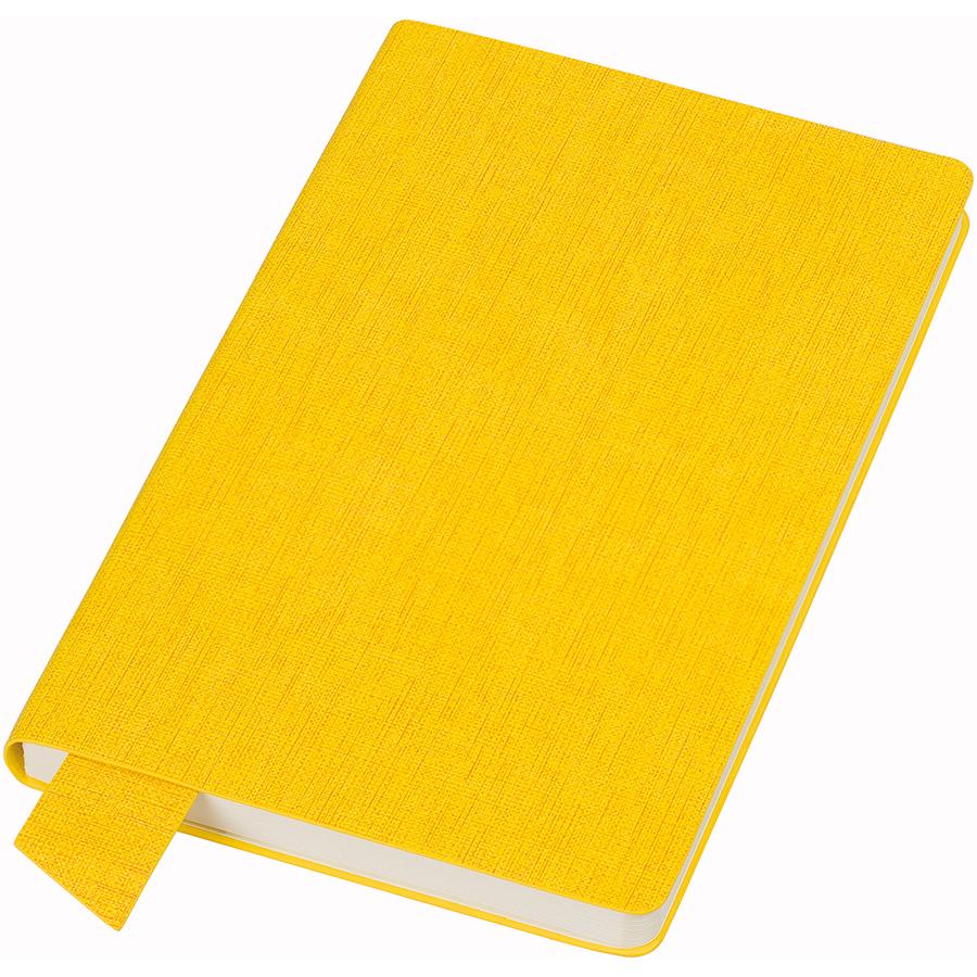 Фотография товара Бизнес-блокнот А5  «Provence», желтый , мягкая обложка, в клетку