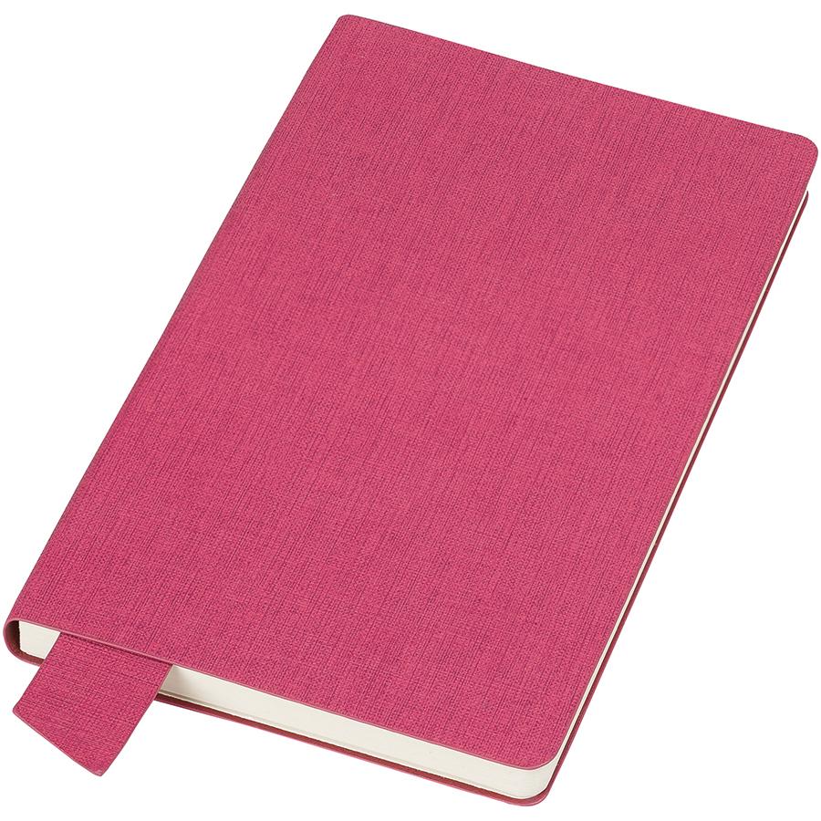 Фотография товара Бизнес-блокнот А5  «Provence», розовый , мягкая обложка, в клетку
