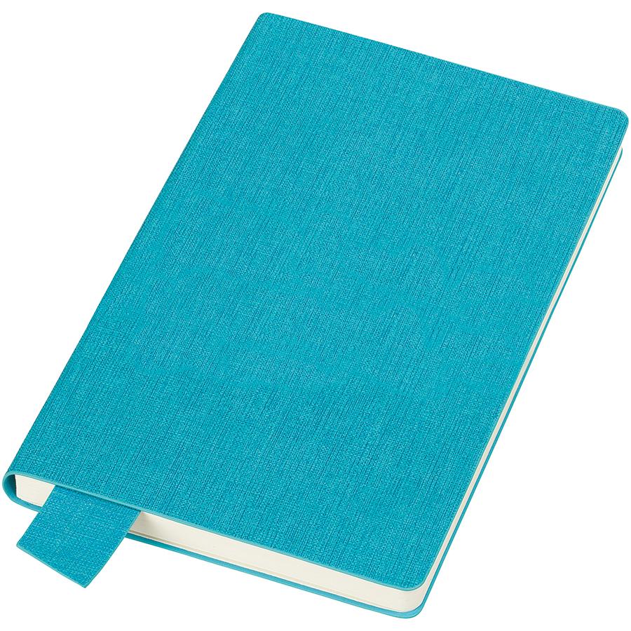 Фотография товара Бизнес-блокнот А5  «Provence», голубой , мягкая обложка, в клетку