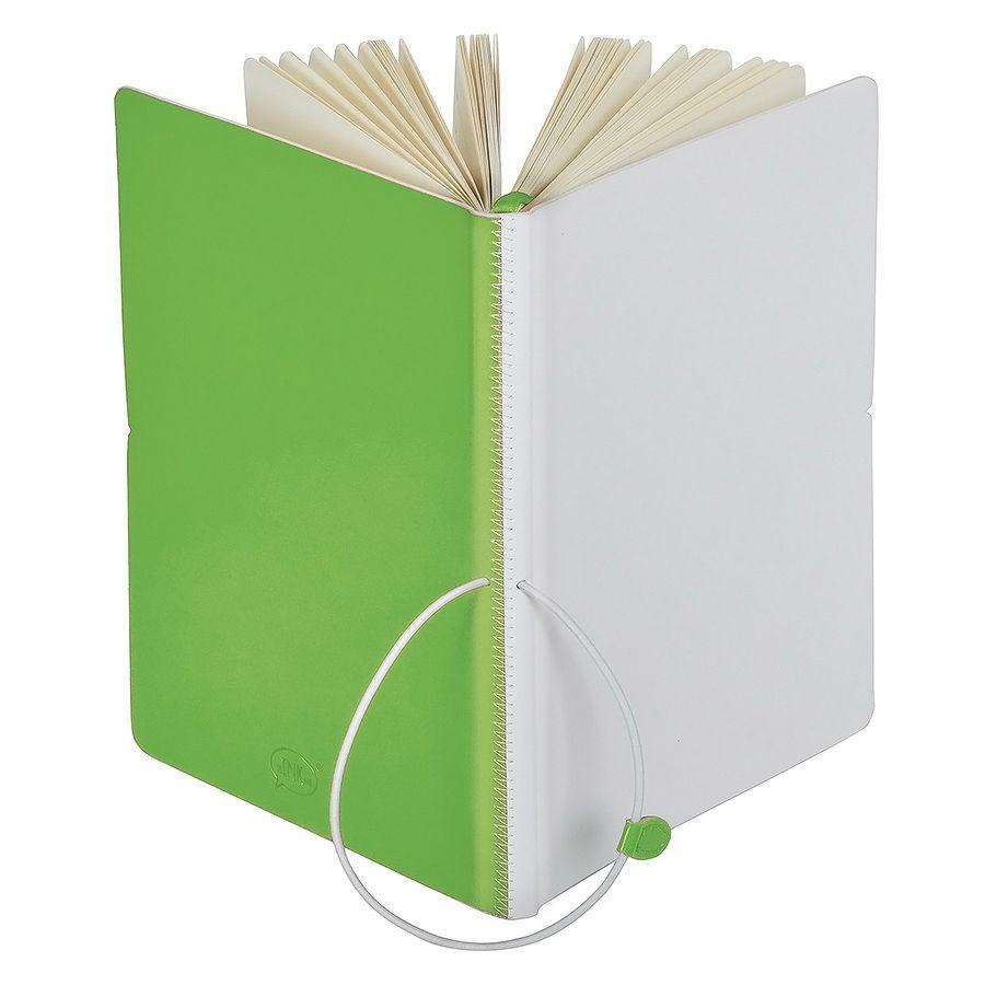 Фотография товара Бизнес-блокнот А5  «Franky» , зеленый/белый,  в линейку