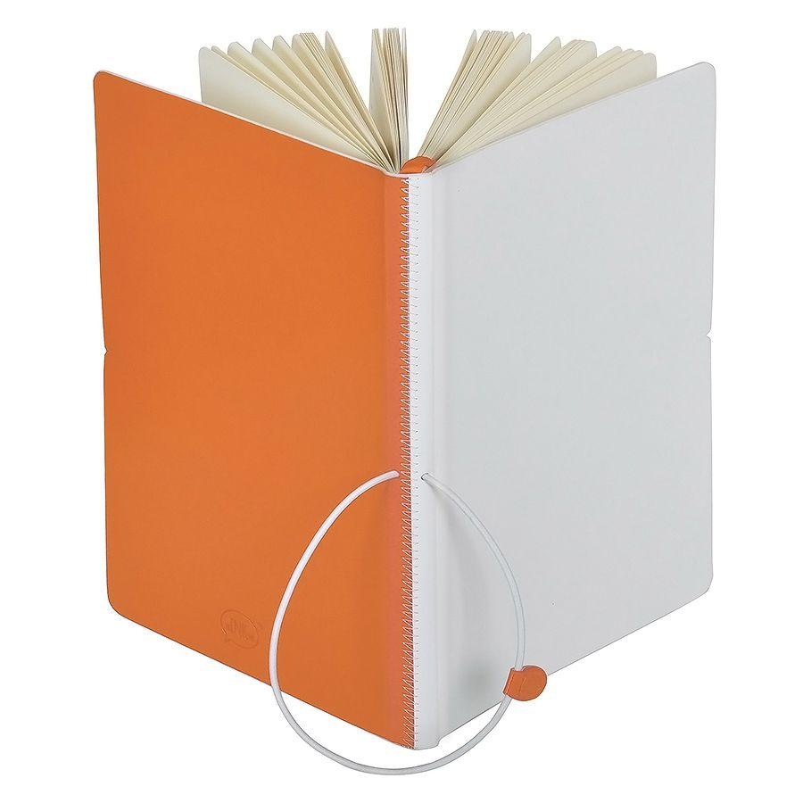 Фотография товара Бизнес-блокнот А5  «Franky» , оранжевый/белый,  130*210 мм,  в линейку