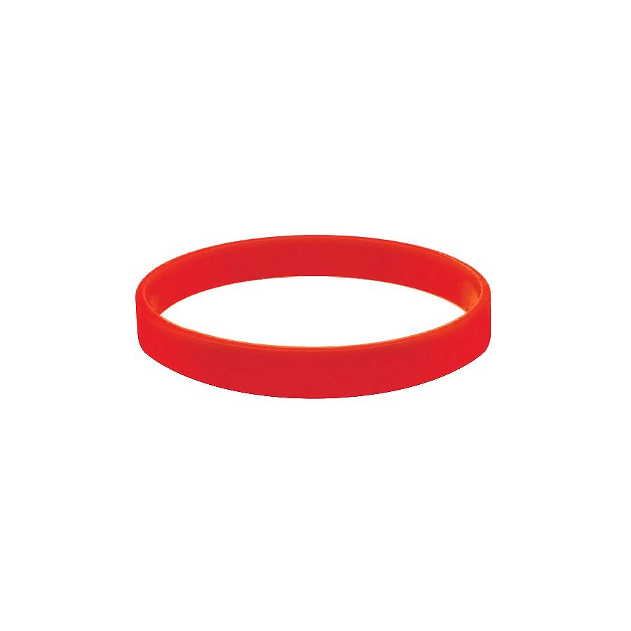Браслет силиконовый «Фантазия»;  D7 см, красный