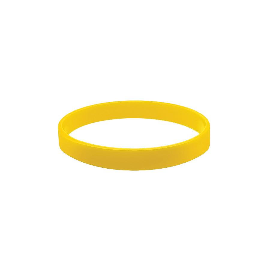 Браслет силиконовый «Фантазия»;  D7см;  желтый