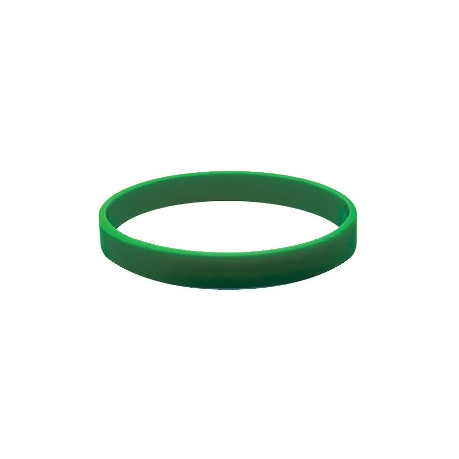 Браслет силиконовый  «Фантазия»; D7см;  зеленый