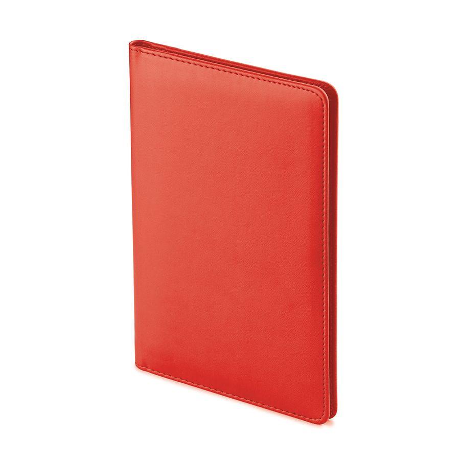 Визитница Velvet, красный, 72 визитки