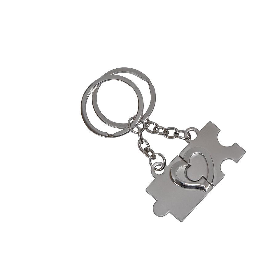 Фотография товара Набор брелоков «Мы вместе» (2шт.), 1шт: 2,2х3х0,2см, металл