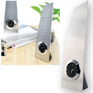Часы наградные «Victory»;  8*6*25 см, металл, стекло; лазерная гравировка