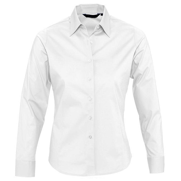"Рубашка ""Eden"", белый_L, 97% хлопок, 3% эластан, 140г/м2"