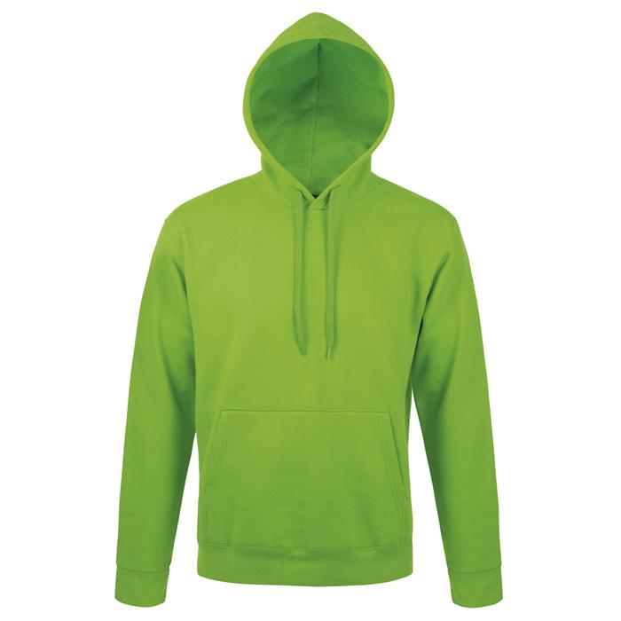 "Толстовка ""Snake"", ярко-зеленый_XL, 50% хлопок, 50% полиэстер, 280м/г2"