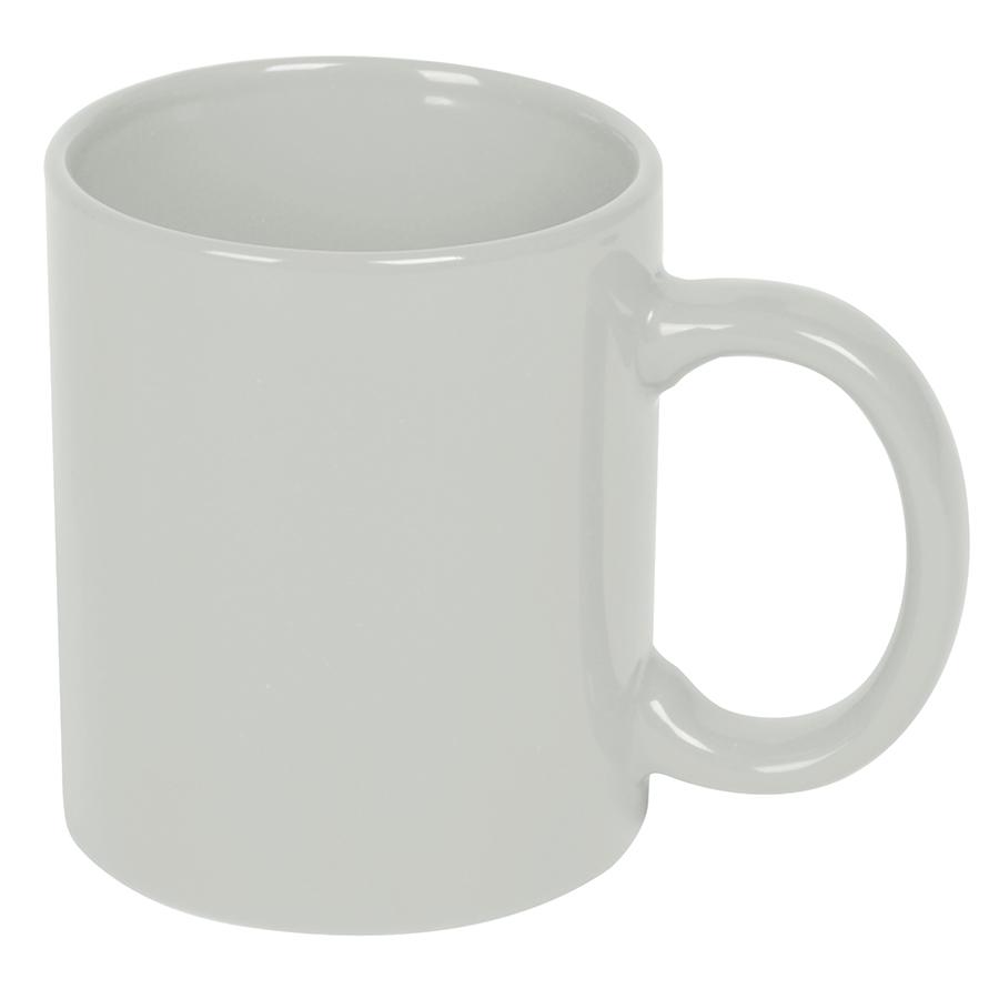 Кружка; белый; 300 мл; керамика; деколь