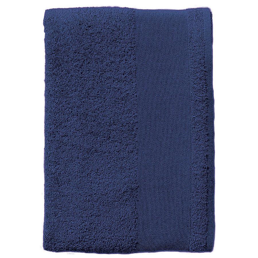 Полотенце «Island 100», темно-синий_100*150 см., 100% хлопок, 400г/м2