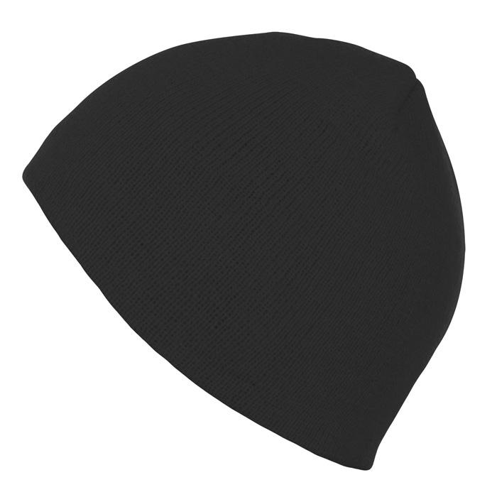 Шапка «Bronx», черный, 100% акрил