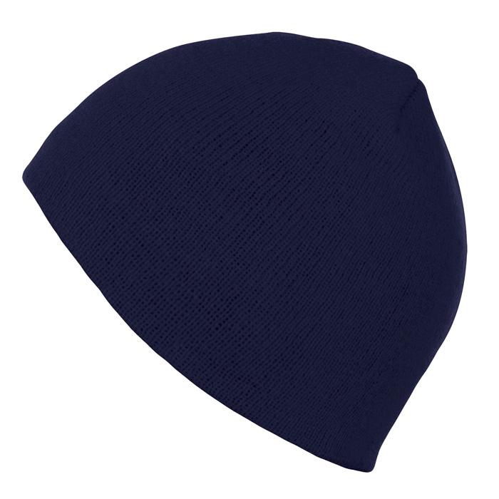 Шапка «Bronx», темно-синий, 100% акрил