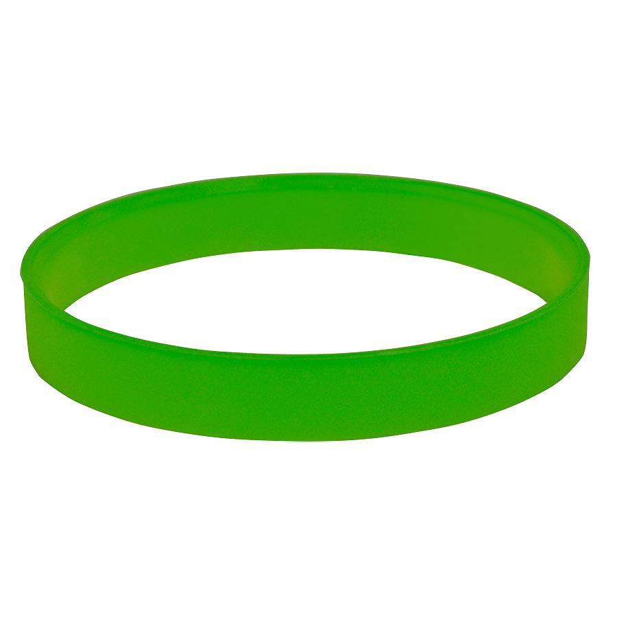 Браслет силиконовый  «Фантазия-2»; D6 см;  зеленый