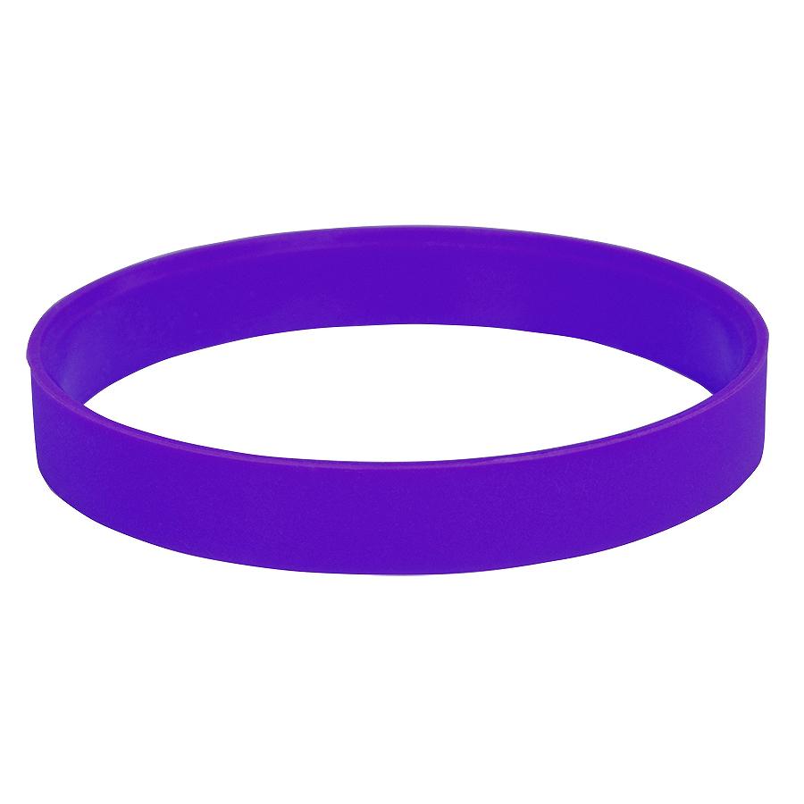 Браслет силиконовый «Фантазия-2»;  D6,5см;  фиолетовый