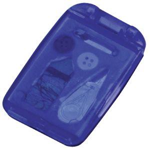 Фотография товара Набор швейный с зеркалом; синий; 7,5х4,9х1 см; пластик; тампопечать