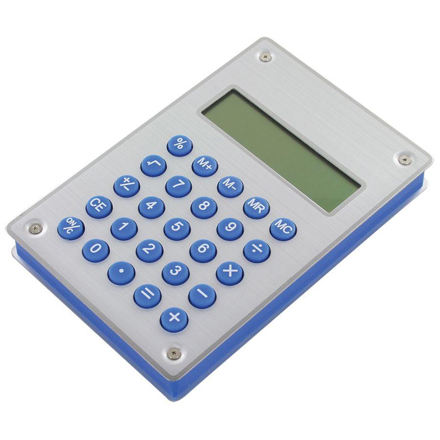 Калькулятор «Aqua» на энергии воды; 10х15х1,8 см; металл,пластик; лазерная гравировка