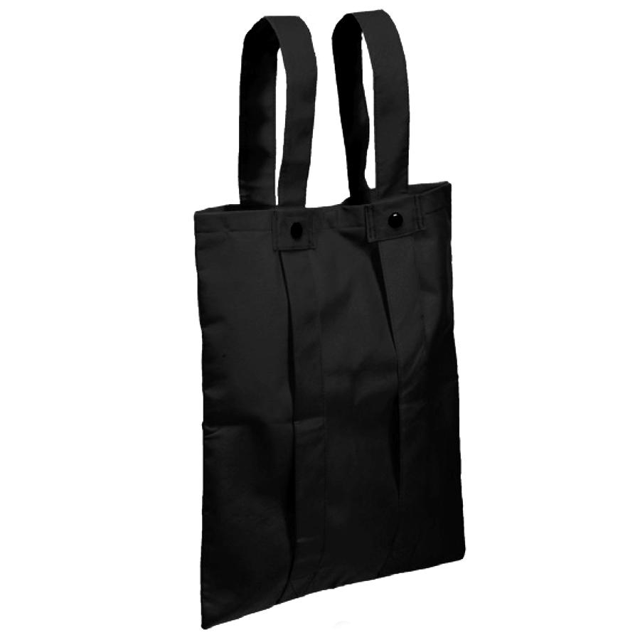 Сумка-рюкзак «Slider»; черный; 36,7*40,8 см; материал нетканый 80г/м2
