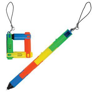 Авторучка-трансформер «Радуга» с фонариком,14,5х1,3см,пластик