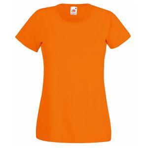 Футболка «Lady-Fit Valueweight T», оранжевый_XS, 100% хлопок, 165 г/м2
