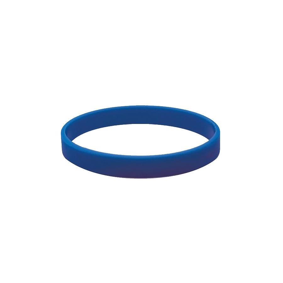 Браслет силиконовый «Фантазия»;  D7см;  синий