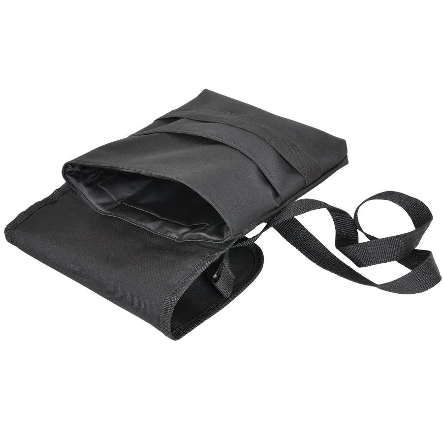 Cумка «CASUAL» ,  черный , 21х27 см; полиэстер ; шелкография
