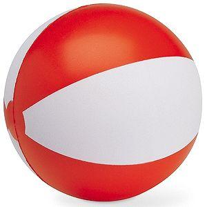 Мяч надувной «ЗЕБРА»,  красный, 45 см, ПВХ