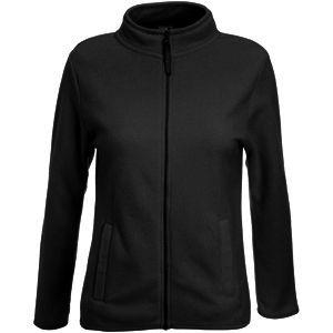 """Толстовка """"Lady-Fit Full Zip Fleece"""", черный_XL, 100% полиэстер, 250 г/м2"""