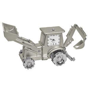 Часы «Трактор»; 10,4х8х4,5 см; металл; лазерная гравировка