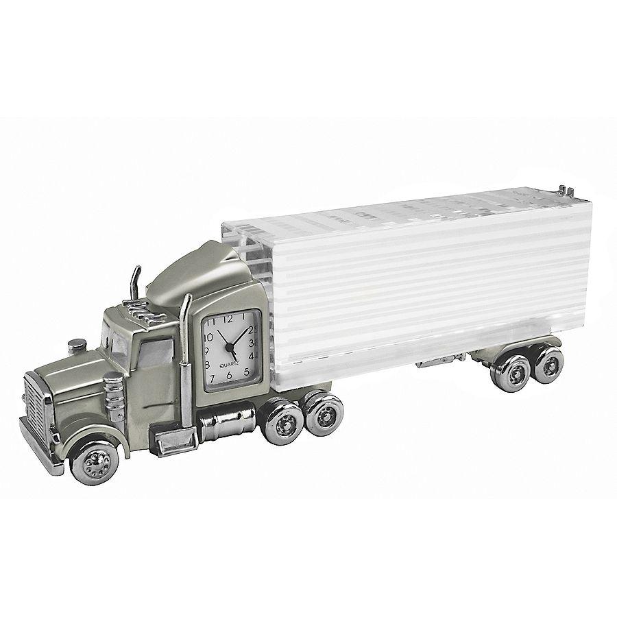 Часы «Truck»; 14,8х3,5х5,2 см; металл, стекло; лазерная гравировка