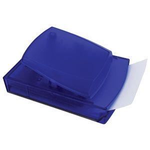 Фотография товара Диспенсер для записей; синий; 12х8,3х5,5 см; пластик; тампопечать