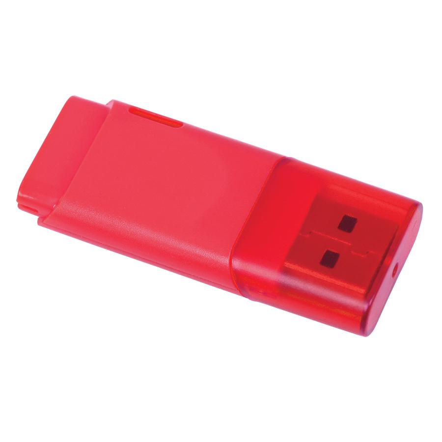 USB flash-карта «Osiel» (8Гб),красный, 5,1х2,2х0,8см,пластик
