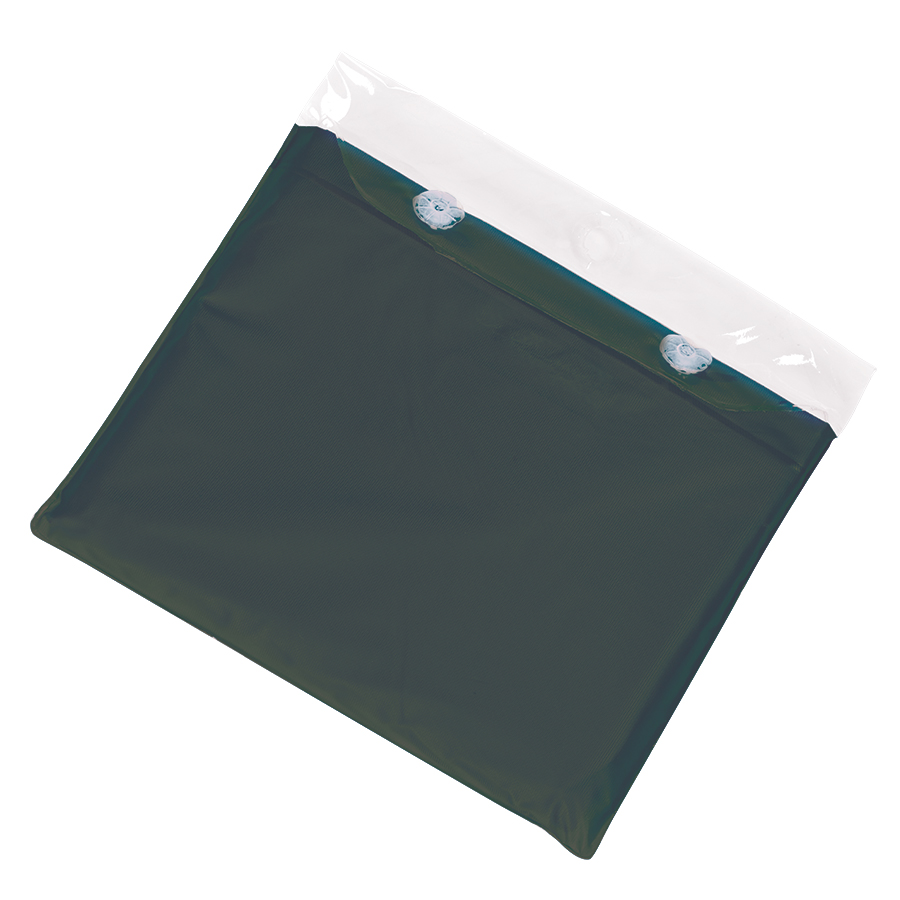 Фотография товара Дождевик «AntiRain»; зеленый; универсальный размер (в сложенном виде 24х17,5 см.); ПВХ