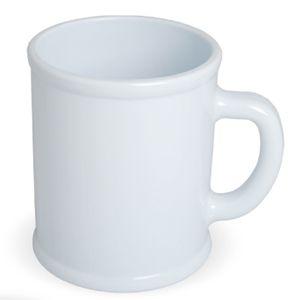 Кружка «Радуга»; белая, D=7,9см, H=9,6см, 300мл; пластик; тампопечать