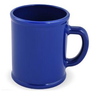 Кружка «Радуга»; синяя, D=7,9см, H=9,6см, 300мл; пластик; тампопечать