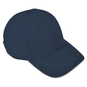 Бейсболка «Classic», 6 клиньев, металлическая застежка; темно-синий; 100% хлопок; плотность 270 г/м2