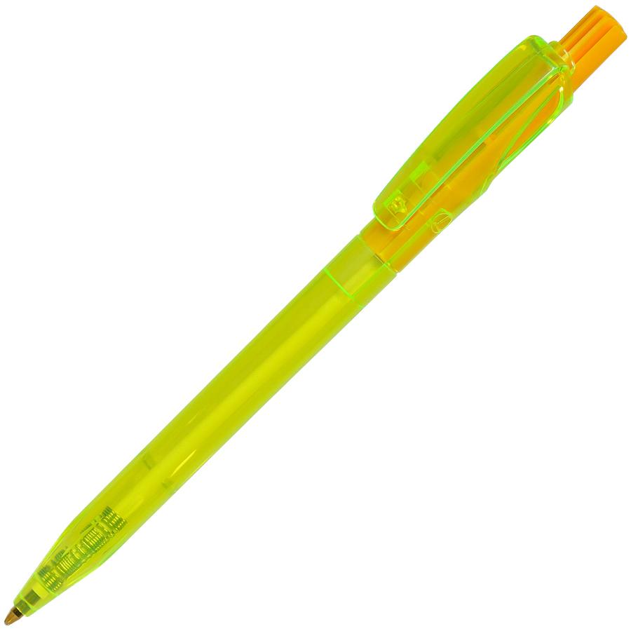 TWIN LX, ручка шариковая, прозрачный желтый, пластик