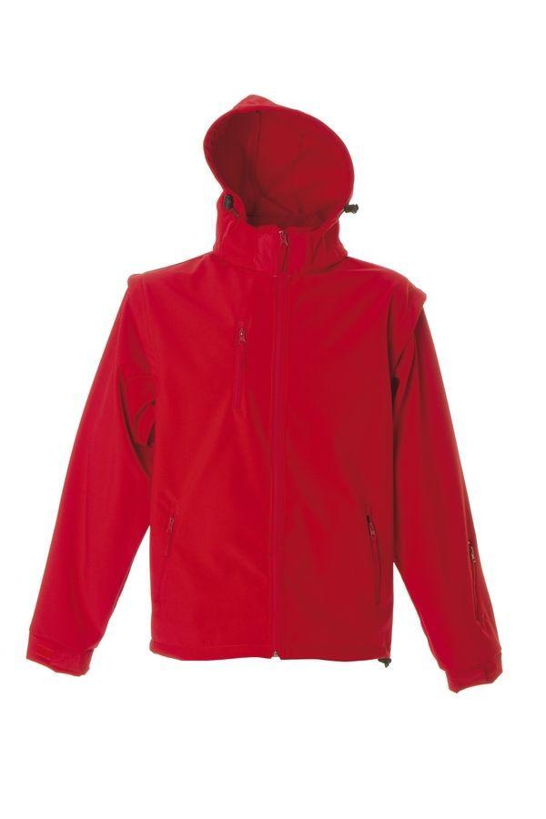 BRUNICO Куртка софтшел, водонеприницаемый красный, размер 3XL