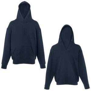 Толстовка Unique Hoodie, глубокий темно-синий_2XL, 80% хлопок, 20% полиэстер, 280 г/м2